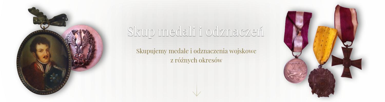 skup medali i odznaczeń warszawa